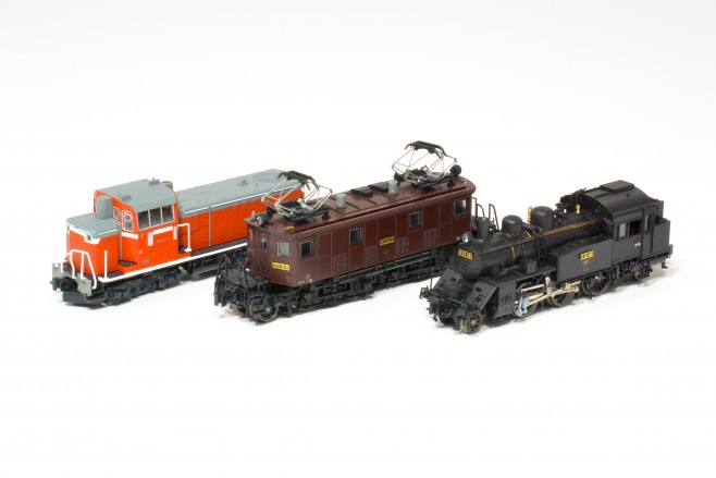 KATO DD16、ED19、C12