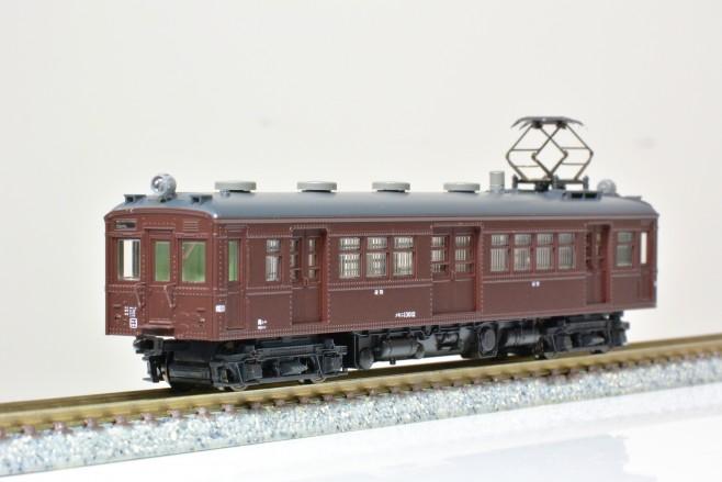 KATO クモニ13、荷物電車