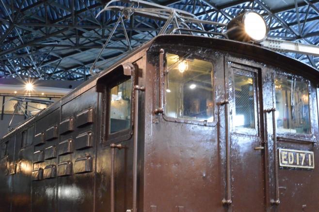 鉄道博物館 ED17 1