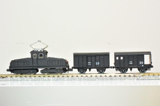 上信電鉄デキ1とワフ1・ワ115