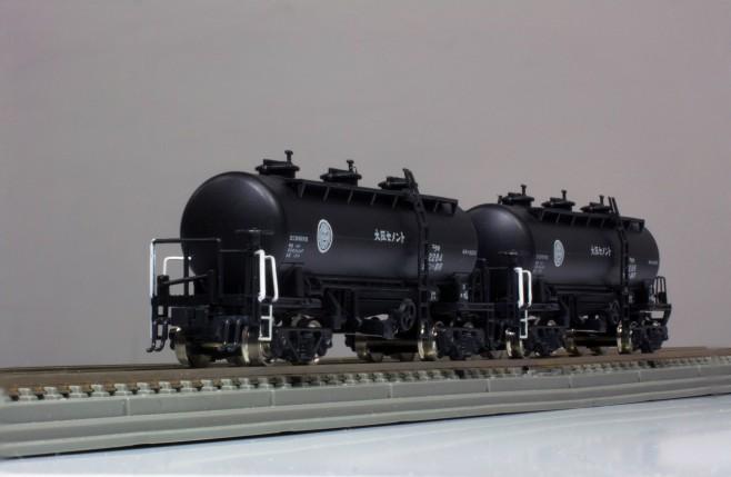 タキ12200の大阪セメントバージョンです。車両番号が12284・12286・12287の3種類あります。