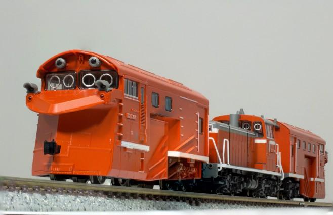 KATOのDD16 304 ラッセル式除雪車セットです。