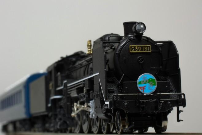 KATO C59 戦後形(呉線)と10系客車