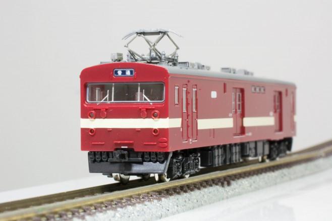 鉄コレ第20弾のクモユニ143-1身延線色です。台車のN化とパンタグラフ交換済みです。