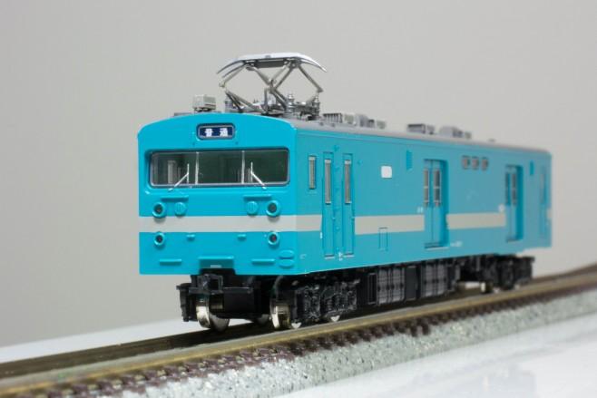 鉄コレ第20弾のクモユニ147-1飯田線です。こちらも台車のN化とパンタグラフ交換済みです。