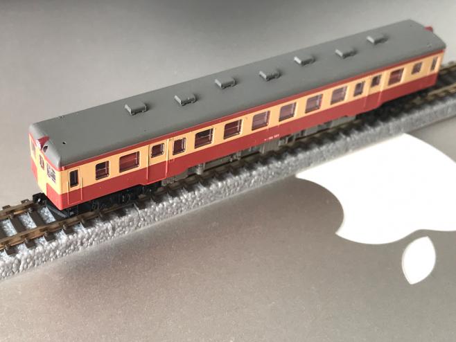 ついに再販されたキハ52 国鉄標準色です。