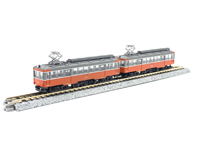 鉄道コレクション、根登山鉄道モハ2形(111+112)、2両編成